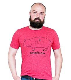United State of Indiana Men's Tenderloin Tee