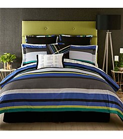 Christian Siriano Chic Stripe Bedding Collection