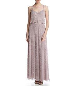 Adrianna Papell® Long Beaded Dress
