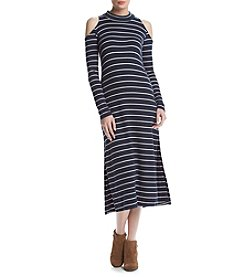 Splendid® Cold Shoulder Midi Dress