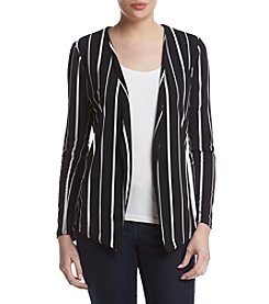 Sequin Hearts® Pleated Stripe Jacket