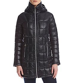 MICHAEL Michael Kors® Hooded Packable Jacket With Box Quilting