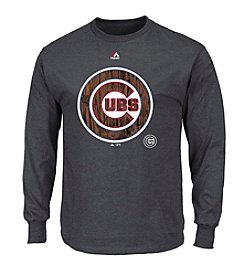 Majestic MLB® Chicago Cubs Men's Darring Attempt Long Sleeve Tee