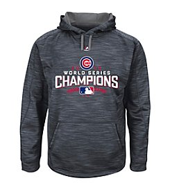 Majestic MLB® Chicago Cubs Men's World Series Logo Heathered Hoodie