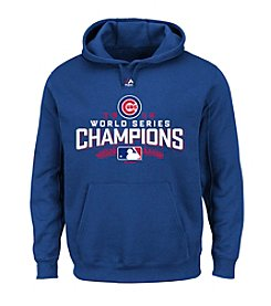 Majestic MLB® Chicago Cubs Men's World Series Logo Hoodie