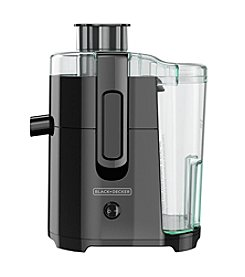 Black & Decker® JE2400BD 400-Watt Juice Extractor with Space Saving Design