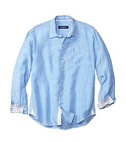 Tommy Bahama® Men's Sand Linen Check Shirt