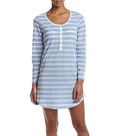 Tommy Hilfiger® Stripe Henley Sleepshirt