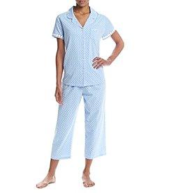 KN Karen Neuburger Capri Pajama Set
