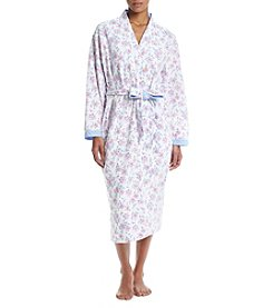 KN Karen Neuburger Floral Robe