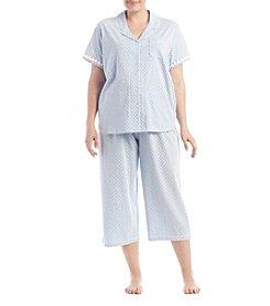 KN Karen Neuburger Plus Size Capri Pajama Set