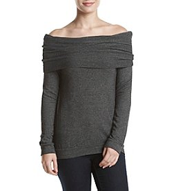 Splendid® Drape Off-Shoulder Top