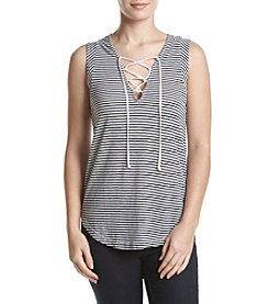 Splendid® Lace-Up Tank