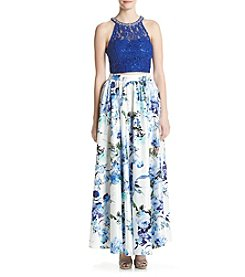 Speechless® Floral Two-Piece Dress