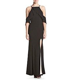 Speechless® Off-Shoulder Long Dress