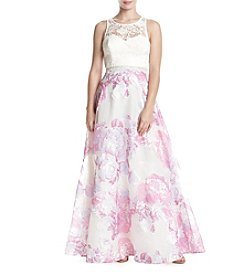 My Michelle® Floral Two-Piece Dress