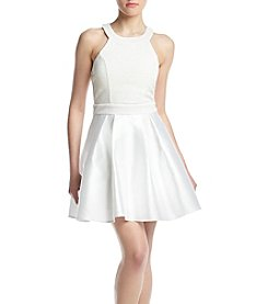 Trixxi® Glitter Bow Short Dress
