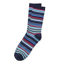Relativity® Thin Stripe Multi Socks