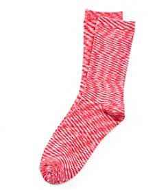 Relativity® Space Dyed Crew Socks