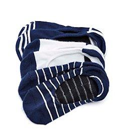 Cuddl Duds® Stripe Foot Cover Socks