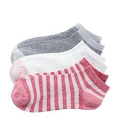 Cuddl Duds® Twist Rugby Low Cut Socks