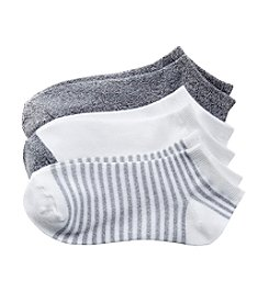 Cuddl Duds® Twist Feedstripe Low Cut Socks
