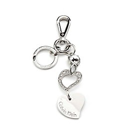 Calvin Klein Double Heart Key Chain