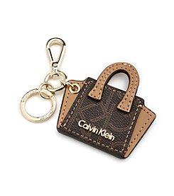 Calvin Klein Monogram Key Fob