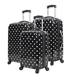 Ciao! Hardside Polka Dot Luggage Collection