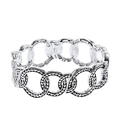 Napier® Open Circle Stretch Bracelet
