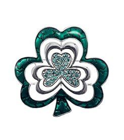Napier® Boxed Clover Pin