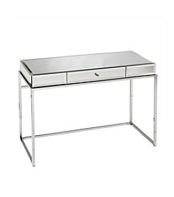 Southern Enterprises Dana Mirrored Desk with Drawer