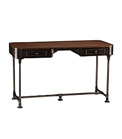 Southern Enterprises Edison Industrial 2-Drawer Desk