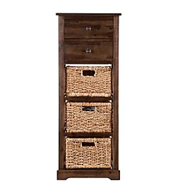 Southern Enterprises Jayton 3-Basket Storage Tower