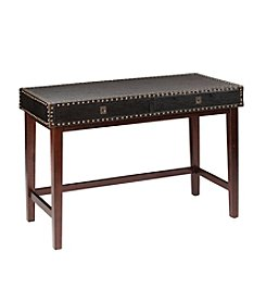 Southern Enterprises Rinaldi Faux Leather Writing Desk
