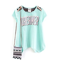 Belle du Jour Girls' 7-16 Dreamer Short Sleeve Top With Purse