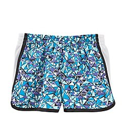 Exertek® Girls' 7-16 Geo Printed Run Shorts
