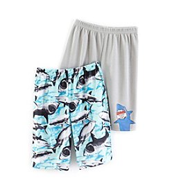Komar Kids® Boys 4-16 2-Piece Shark Sleep Set
