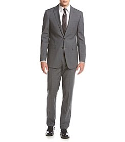 Calvin Klein Men's Check Slim Fit Suit