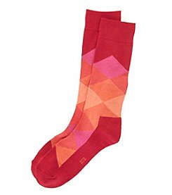 HUE® Men's Cushion Dress Socks