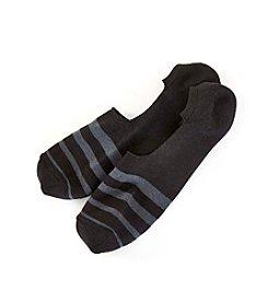 HUE® Men's Stripe Liner socks