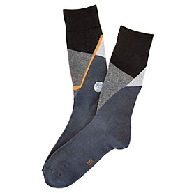 HUE® Men's Golf Dress Socks