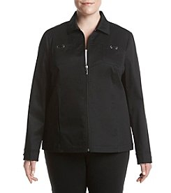 Studio Works® Plus Size Solid Sport Jacket