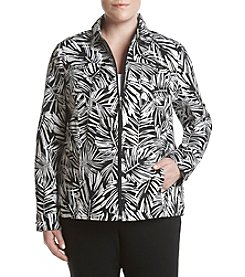 Studio Works® Plus Size Print Sport Jacket