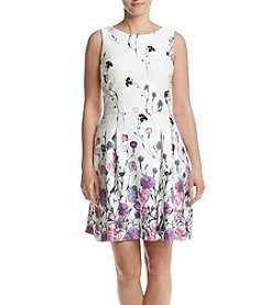 Ivanka Trump® Floral Scuba Dress
