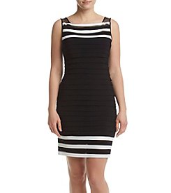 Adrianna Papell® Color Block Sheath Dress