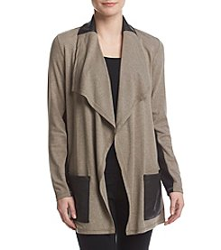 Jones New York® Drape Cardigan Sweater