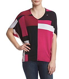 Jones New York® Color Block Top