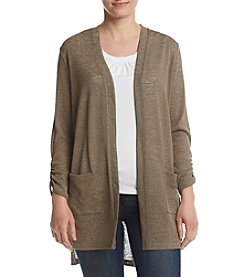 Jones New York® Open Front Duster Sweater