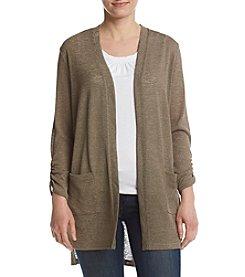 Jones New York® Open Front Duster Sweater
